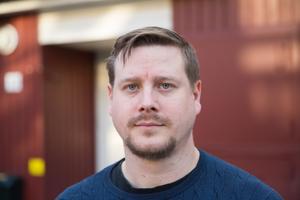 Patrik Wallin, sekreterare i bostadsrättsföreningen Varnbäcken.
