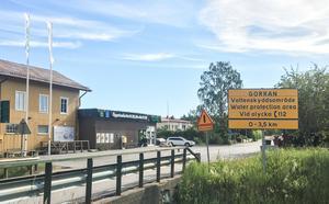 Gorrans vattenskyddsområde i Sorunda börjar vid Spångbro i väster.
