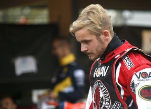Simon Gustafsson lyckades inte ta någon poäng i comebacken.