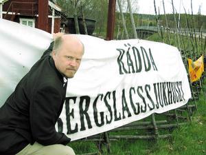 Det blev många turer och strider för Stig Henriksson gällande Bergslagssjukhusets vara eller icke vara.
