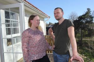 Ida och Kristofer Alexis, offer för byggfusk i Vanstabyn, Ösmo.