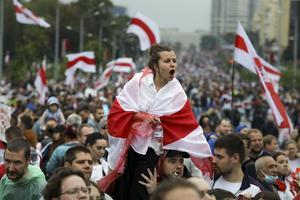 30 000 människor har gripits under protesterna mot Lukasjenkas regim.