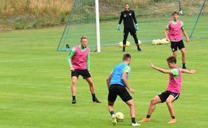 J-Södra laddar upp inför matchen mot Värnamo.