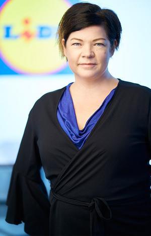 Petra Whitehead, presstalesperson hos Lidl. Bild: Lidl Sverige