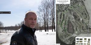 Niclas Olofsson och Sundsvalls Golfklubb står inför en jättesatsning på golfbanan i Skottsund.