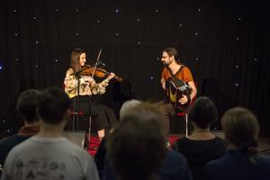 Musik från Nederländerna. Laureyssens & Ten Wolde i Ljusgården.