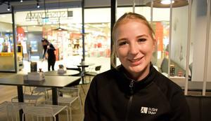 Elin Sundberg är ansvarig för verksamheten i den nya restaurangen.