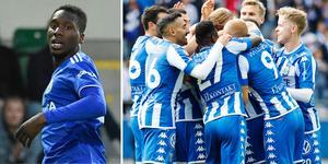 Peter Wilson anser att förlusten mot IFK Göteborg var oförtjänt. Foto: Erik Mårtensson / TT, Jonas Lindstedt / TT