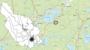 Söder om Stora Ulvsjön nära Borlängegränsen ligger det nya naturreservatet Nerigården som fått sitt namn efter en gård på andra sidan vägen.Bakgrundskartan är gjord av Lantmäteriet och bearbetad av Länsstyrelsen Dalarna.