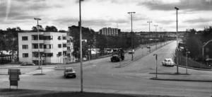 En lugn trafikdag i juni 1973. Foto: ÖP:s arkiv