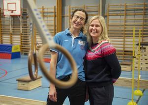 Anna Gustafsson och Eva Hamrin.