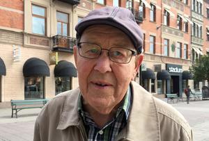 Harald Vedin, 88 år, pensionär, Sundsvall