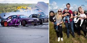 Motorsportdagen blev ett fartfyllt avslut på Motorveckan. Ett arrangemang som lockade unga och gamla med bensin i blodet.