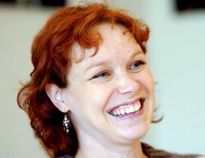 Mira Helenius Martinsson, danschef vid Norrdans. Bild: Gunnar Stattin