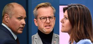 Södertälje har fått besök av tre socialdemokratiska ministrar på elva dagar: Morgan Johansson, Mikael Damberg och Eva Nordmark. Foto: TT
