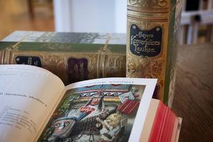 Meyers konversationslexikon, ett tyskt standardverk. Den här upplagan är från 1897.