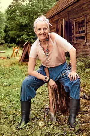 Nina Wahlin gick hela vägen till sista avsnittet av Farmen.