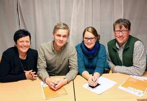 Alliansen här med, Anita Thuresson (M), Viktor Ericsson (M), Elin Lemon (C), och Anders Häggkvist (C) har presenterat sin politiska plattform.