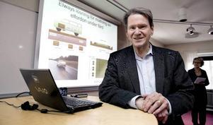 Gunnar Asplund får sin elväg men Trafikverket valde att bygga den mellan Arlanda och Rosersberg och inte i Borlänge