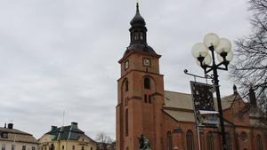 Kristine kyrka i centrala Falun.