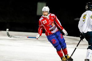 Mer är att vänta från Klas Nordström, om vi ska tro huvudtränaren. Foto: Arkiv.