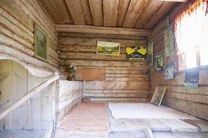 En av platserna på gården som Kerstin Costa är mest stolt över är dasset.