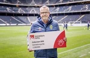 Janne Andersson, förbundskapten för herrlandslaget i fotboll. Bild: Svenska spel.