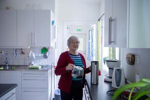 Margareta Grön vet var allt finns i huset.