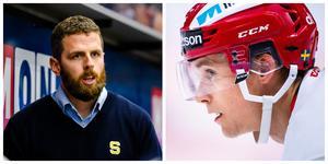 Ulf Lundberg kan matcha in Emil Bejmo i SSK till helgen. Foto: Bildbyrån. Montage: Anna Svedberg.