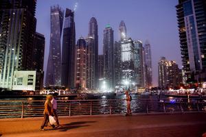 Dubai är ett resmål som lockar för Alexander Younan.