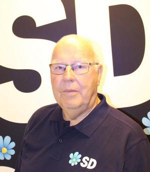 Kjell Göte Bohman (SD), pensionär, Järna, 73 år. Foto: Sverigedemokraterna
