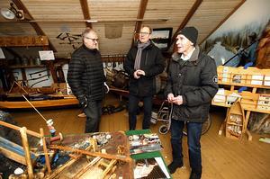 Det är tusentals föremål som ska flyttas från Laxviken till Optand. Curt Sillström, Olov Amelin imponerades av Folkes museum.