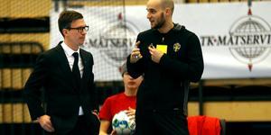 """Fredrik """"Honken"""" Holmquist kommer att fortsätta leda ÖSK Futsal tillsammans med Jacob Nilsson och Victor Huerta."""