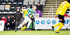 Douglas Karlberg startade mot Mjällby och hade fram till i fredags varit med i truppen till alla matcher.