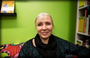 Ordförande Brita Wessinger (MP) försvarar namnbytet.Bild: Katarina Östholm