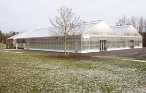 Växthuset i Hagaparken i Hofors ska i första hand sysselsätta arbetslösa och utveckla nytt företagande.