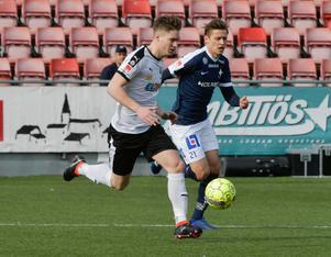 Victor Sköld fick göra mål i matchen mot Sirius.Foto: Conny Sillén/TT