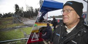 Stig Blomqvist blir en av runt 200 rallyförare som kommer ta sig an Sörbybacken som avslutning på den första av 21 specialsträckor i Midnattssolsrallyt i sommar. Arkivfoto