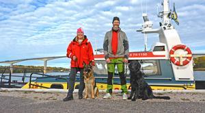 Nita och Zimba är Norrlandskustens första sjöräddningshundar. Tillsammans med sina ägare och förare Linda Jansson och Lars Lindström kan de rycka ut på uppdrag längs hela Norrlandskusten.