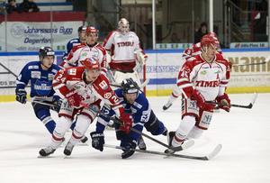 Matchen borta mot Karlskoga den 27 januari kunde bli den sista för Timrå IK – så blev det aldrig. Bild: Anna-Lena Bergqvist/BILDBYRÅN