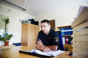 Dick Danielsson, biträdande närpolischef i Örnsköldsvik.