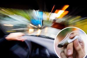 Den 9 oktober 2018 körde en man i hög hastighet genom Bredsand.