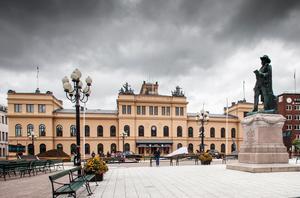 Sundsvalls stadshus – boning för Höga Rättvisan på Klaras och Zacharias tid. Bild: Mikaela Jansson