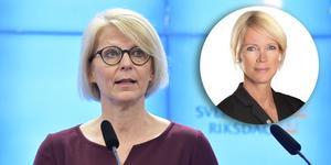 Elisabeth Svantesson (M) och Saila Quicklund (M).