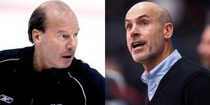 Mike Keenan coachade klubbar som Philadelphia Flyers, Calgary Flames, New York Rangers, Chicago Blackhawks och Vancouver Canucks under sin NHL-karriär. Foto: Bildbyrån.