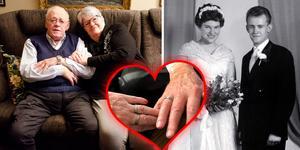 Åke och Margaretas har varit tillsammans i över 62 år.