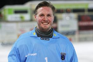 Henrik Kjellsson – en glad matchhjälte efter Sirius starka seger borta mot Bollnäs.