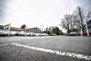 Utlämningsstället i Sandviken sker på parkeringen bakom Lidl.
