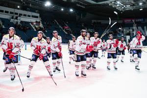 Jhonas Enroth fick se sitt nya lag, Örebro, ta en krigarseger mot Djurgården. Bild: Andreas Sandström/Bildbyrån