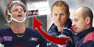 Mathias Månsson riktar skarp kritik mot Strömwall i Hockeypuls podcast. Foto: Sporten/Hockeypuls.